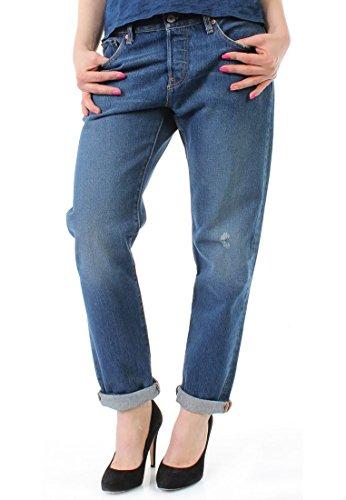 Tapered Mujer denim Lavado Levi's Jeans Azul 501 Para Z1xqxC5