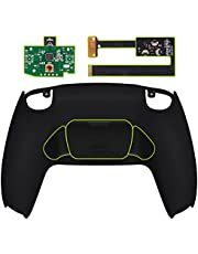 eXtremeRate Black Back Paddles Programable Rise Remap Kit for PlayStation 5 Controller BDM-010, Upgrade Board & Redesigned Back Shell & Back Buttons Attachment for PS5 Controller - Controller NOT Included