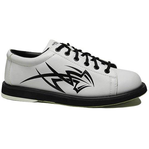 Pyramid Mens Tribal White Bowling Shoes (12)