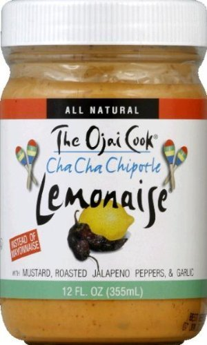 Chipotle Lemonaise - Organic, Spicy Chipotle Mayo Aioli Made With Cage-Free Eggs, Roasted Jalapeno Peppers and Garlic - 12 fl oz