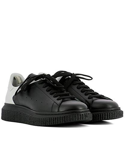 Homme Caoutchouc Baskets Noir KRACE001DEVOMNEROBIANCA CREATIVE OFFICINE 8aRqww