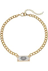 Juicy Couture Lips Collar Necklace