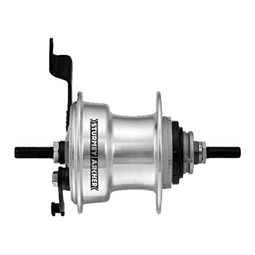 Twist Shift Kit - Sturmey Archer Hub Rear S/A 3Sp Rxrd3 Drum 36 W/Trim Kit/Twist Shifter 135Mm - IHC3T.XBS2.AA0.OE+SHIFT/CBLS/HDWR