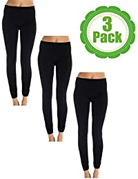 American Casual Women's Seamless 3 Pack Fleece Lined...