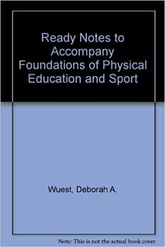 Ready Notes t/a Foundations of Physical Education, Exercise