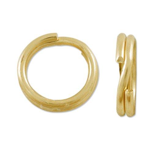 (Gold Filled Split Ring 6mm (1-Pc))