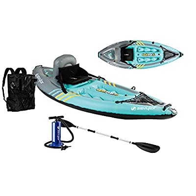 2000014137 Sevylor K1 Quikpak Inflatable Kayak by Sevylor
