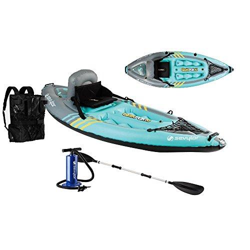 Sevylor K1 Quikpak Inflatable Kayak
