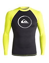 Quiksilver Men's Lock Up Long Sleeve Rash Guard