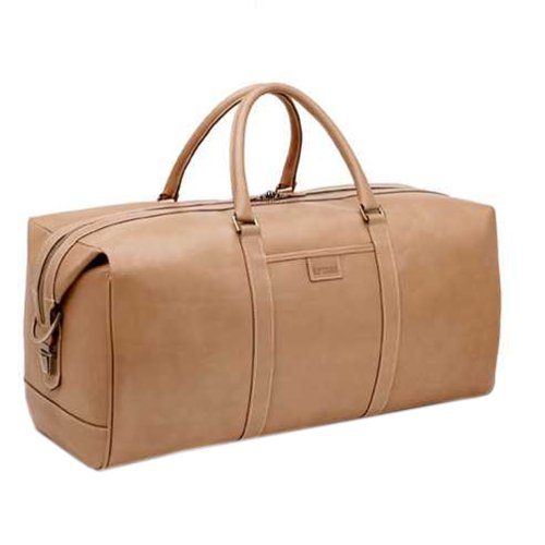 Hartmann 470-1860 Belting Leather 22 Inch Travel Duffel, Natural