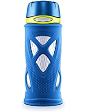 Zulu Shorty Tritan Plastic Water Bottle, Blue, Standard