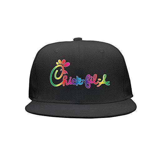 dbea5338 uter ewjrt Adjustable Chick-fil-A-Logo- Baseball Hats Pattern Sports Caps