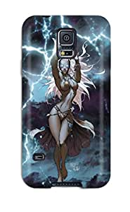 Linda Esther Donna's Shop Fashion Protective X Men Storm Case Cover For Galaxy S5 1486057K39394703