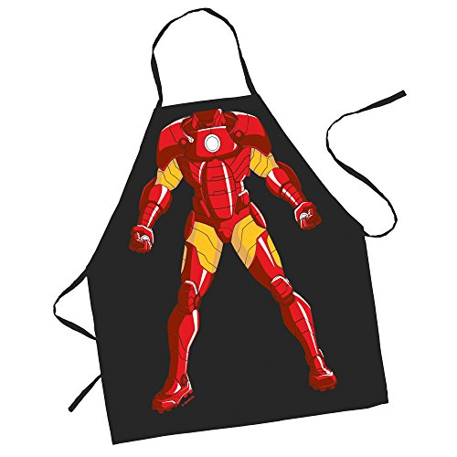 ICUP Marvel - Iron Man Character Kids 100% Cotton Black -