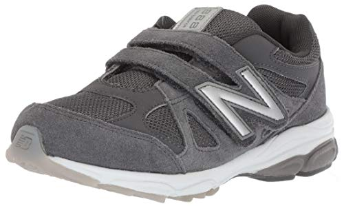 New Balance Hook - New Balance Boys' 888v1 Hook and Loop Running Shoe, Magnet/Marblehead, 13.5 XW US Little Kid