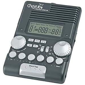 Cherub WRW-106 iRhythm / Metronome for Drummers, black