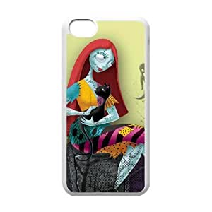 iPhone 5C Phone Case White The Nightmare Before Christmas WE1TY690022
