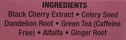 3 Pack - Only Natural Gout Tea Black Cherry Fruit Extract Bags, 20 Count by Only Natural (Image #2)