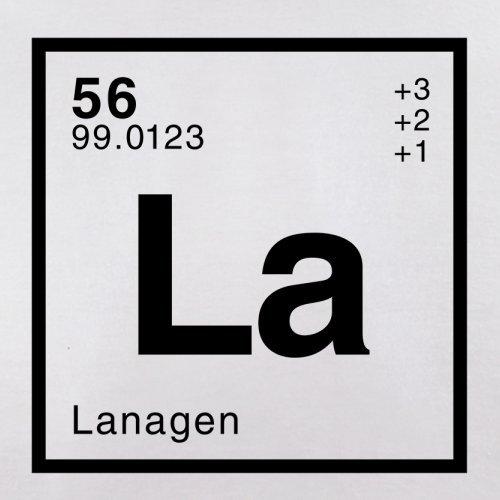 Lana Periodensystem - Herren T-Shirt - Weiß - L