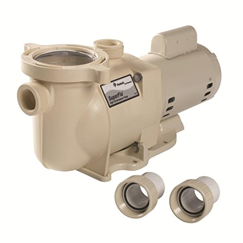 Pentair 340039 SuperFlo High Performance Single Speed Pool Pump, 1½ Horsepower, 115/230 Volt, 1 Phase by Pentair