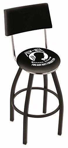 Holland Bar Stool L8B4 POW/MIA Swivel Counter Stool, 25