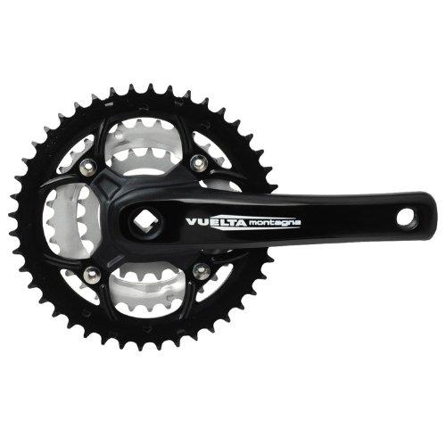Vuelta MTB Pro 44S/32S/22S SQ 104-64/BCD Crank Set, Black, 170mm