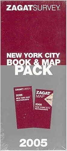 Zagat New York City Book & Map Pack with Map (Zagat Survey): Zagat on