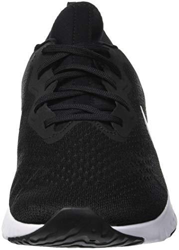 001 Black Grey React Scarpe Nike Uomo Running Wolf Odyssey White Nero BFxqw4