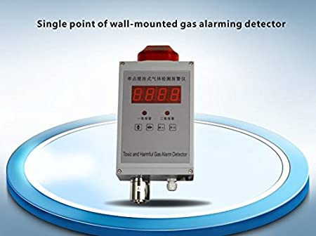 Amazon.com: single point of wall-mounted gas alarming detector,fixed combustible gas detector authentic and gas leak sensor LED Display: Electronics
