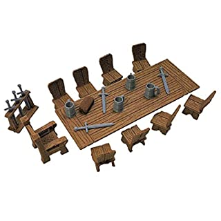 Lords Table Set - 28mm Gaming Terrain