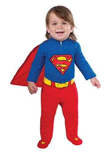 (Faerynicethings Superman Infant Costume - 6-12)