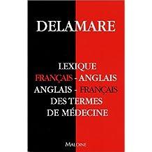 Lexique français-anglais/anglais-français des termes de médecine