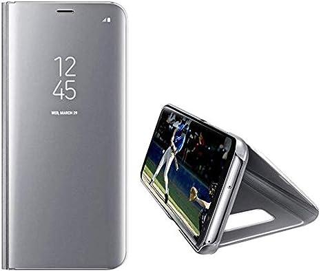 Surakey Negro Funda de piel con tapa para Samsung Galaxy A30S//A50S