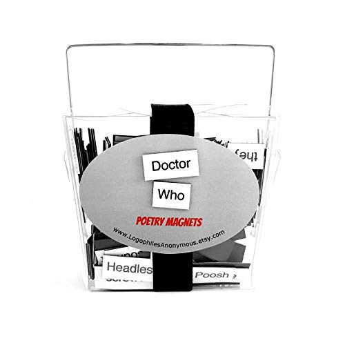 Doctor Who Magnetic Poetry/Fridge Magnet/Doctor Who Gifts/Doctor Who Quotes/Geeky/Housewarming Gift/Doctor Who Toys/Dr Who