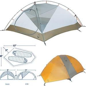 Sierra Designs Hyperlight AST Tent 2-Person 3-Season  sc 1 st  Amazon.com : sierra designs 2 person tent - memphite.com