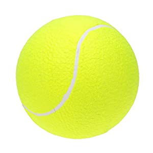 "Lixada 9.5"" Oversize Giant Tennis Ball for Children Adult Pet Fun (Shipped Deflated)"
