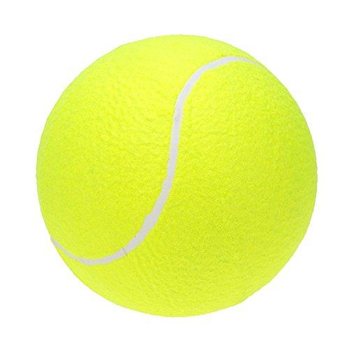 "Lixada 9.5"" Oversize Giant Tennis Ball for Children Adult Pet Fun (Shipped Deflated)"