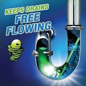 Green Gobbler BIO-FLOW Drain Strips - (Drain Cleaner & Deodorizer) - 4 Packs of 12 each by Green Gobbler (Image #3)