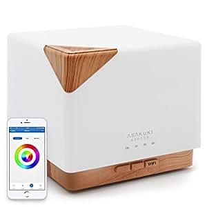 Amazon.com : ASAKUKI Smart Wi-Fi Essential Oil Diffuser