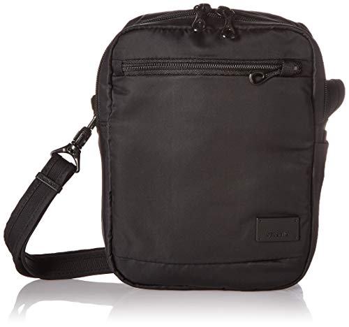 - Pacsafe Citysafe CS75 Anti-Theft Cross-Body and Travel Bag, Black