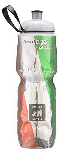 Polar Bottle Insulated Water Bottle Limited Edition (24-Ounce, Italy) by