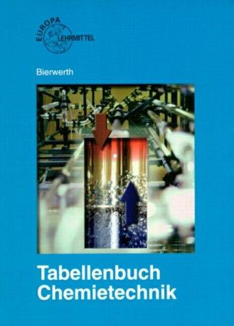 Tabellenbuch Chemietechnik