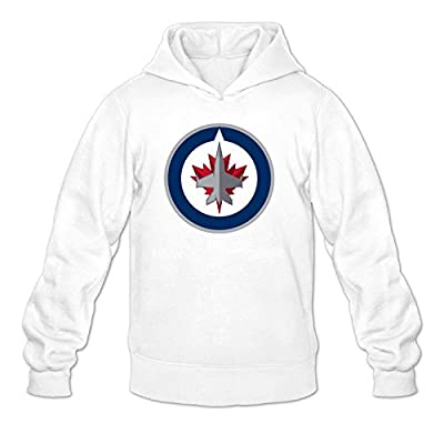 Winnipeg Jets Men's Cool Outwear Hoody White