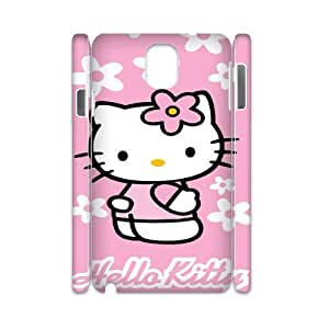 Hello Kitty SANDY0014274 3D Art Print Design Phone Back Case Customized Hard Shell Protection Samsung galaxy note 3 N9000