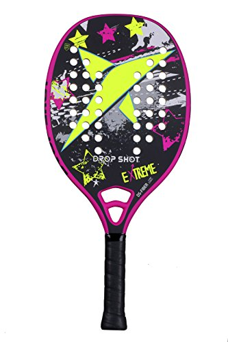 Drop Shot Extreme Recreational Beach Tennis Paddle (2017 Model) by Drop Shot Sports