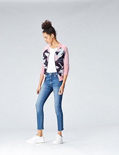 Bomber Rose en Femme FIND Jersey Pink 8zPZ6Uq