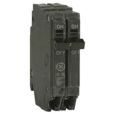 General Electric THQP250 Circuit Breaker, 2-Pole 50-Amp Thin Series