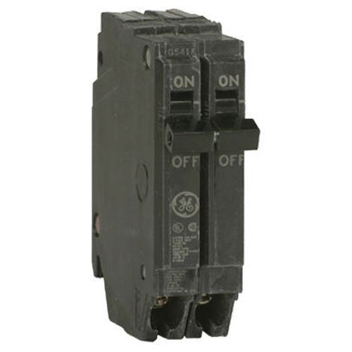 General Electric THQP220 Thin Series 2-Pole 20-Amp Circuit Breaker (Circuit Ge Breaker Pole Single)