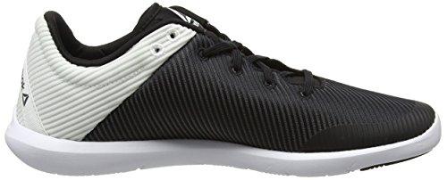 Donna Nero Studio Indoor Sportive White Scarpe Black Basics Reebok YvXwqd7xgq
