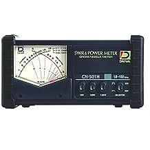 DAIWA CN-501H 1.8-150 MHz CROSS-NEEDLE SWR/POWER METER W/ SO239s